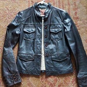Sanctuary 100% leather jacket